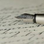 実用のドイツ語手紙を書く